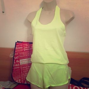 Lululemon racerback tank and speed up short